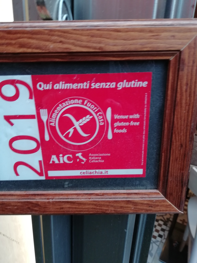 Glutenvrij logo Italiaanse coeliakievereniging.