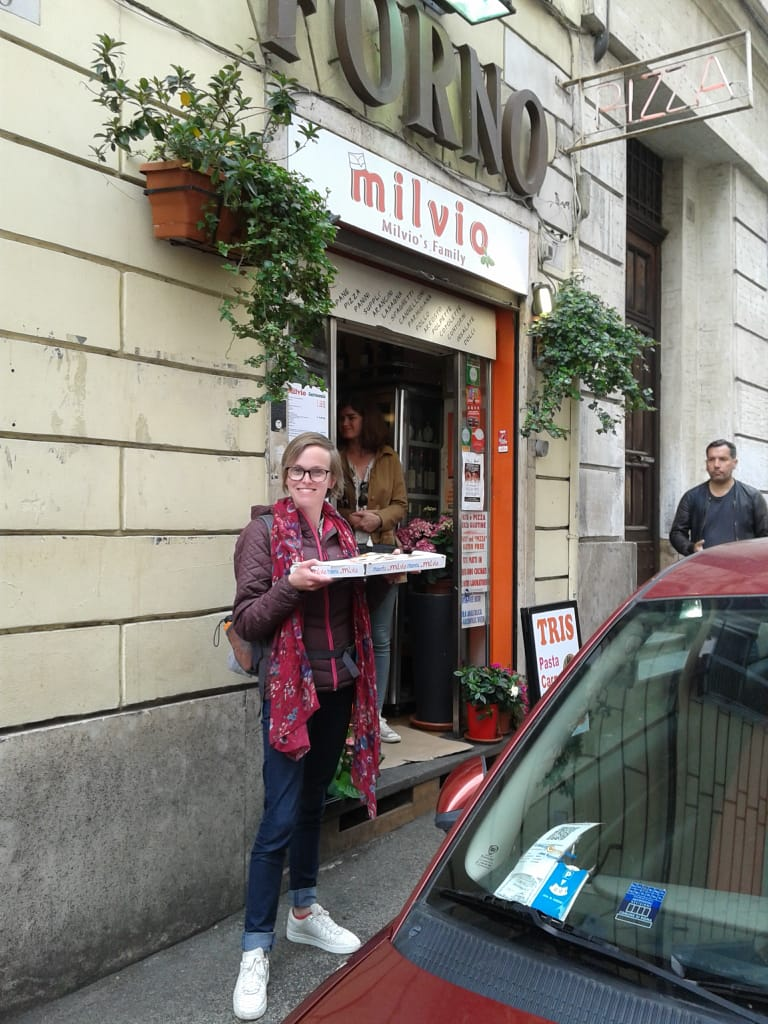 Glutenvrije pizza in Rome