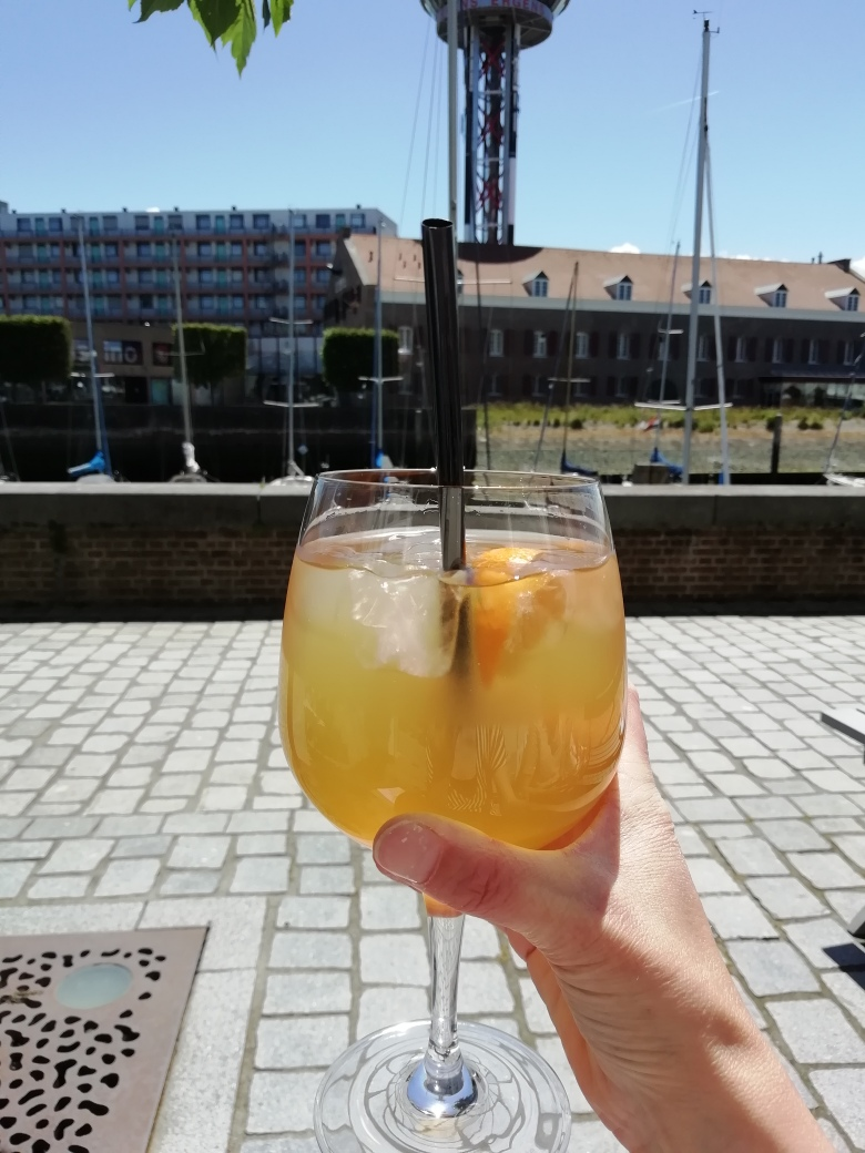 Mocktail in de soepbar in Vlissingen