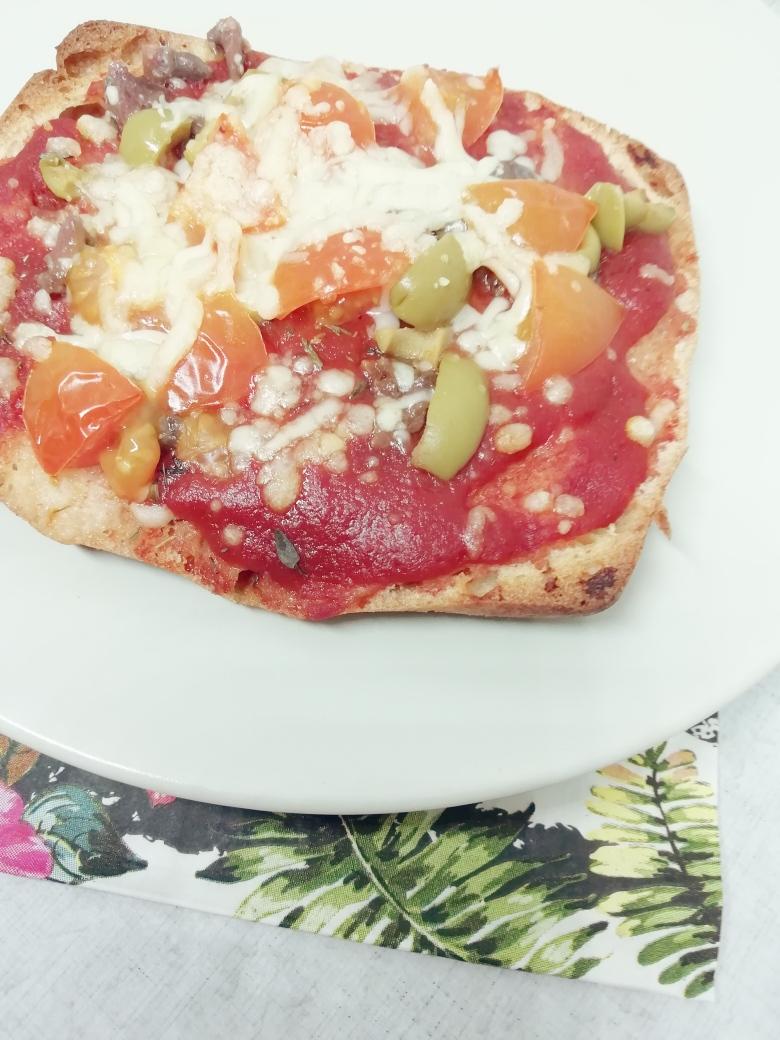 Glutenvrije pizzabaguette