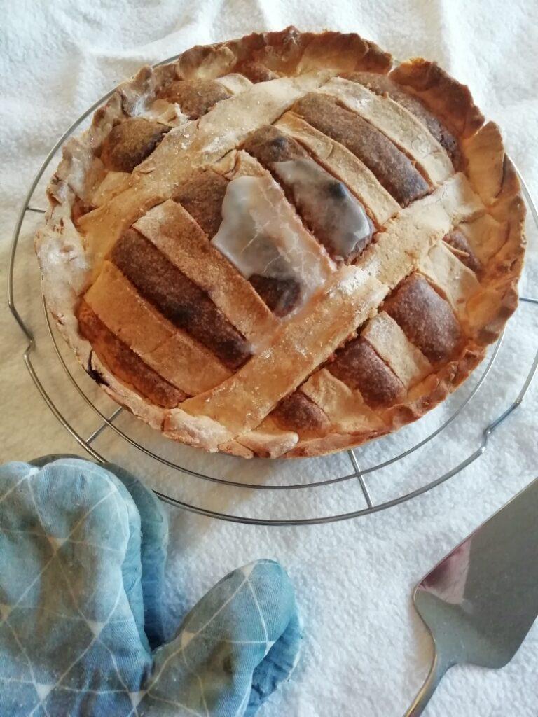 Glutenvrije frangipane taart